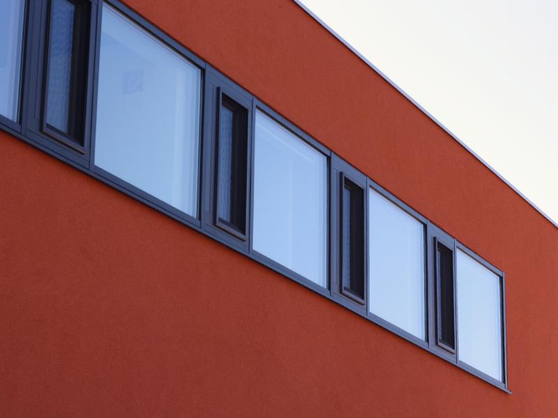 Kultursaal Fensterreihe